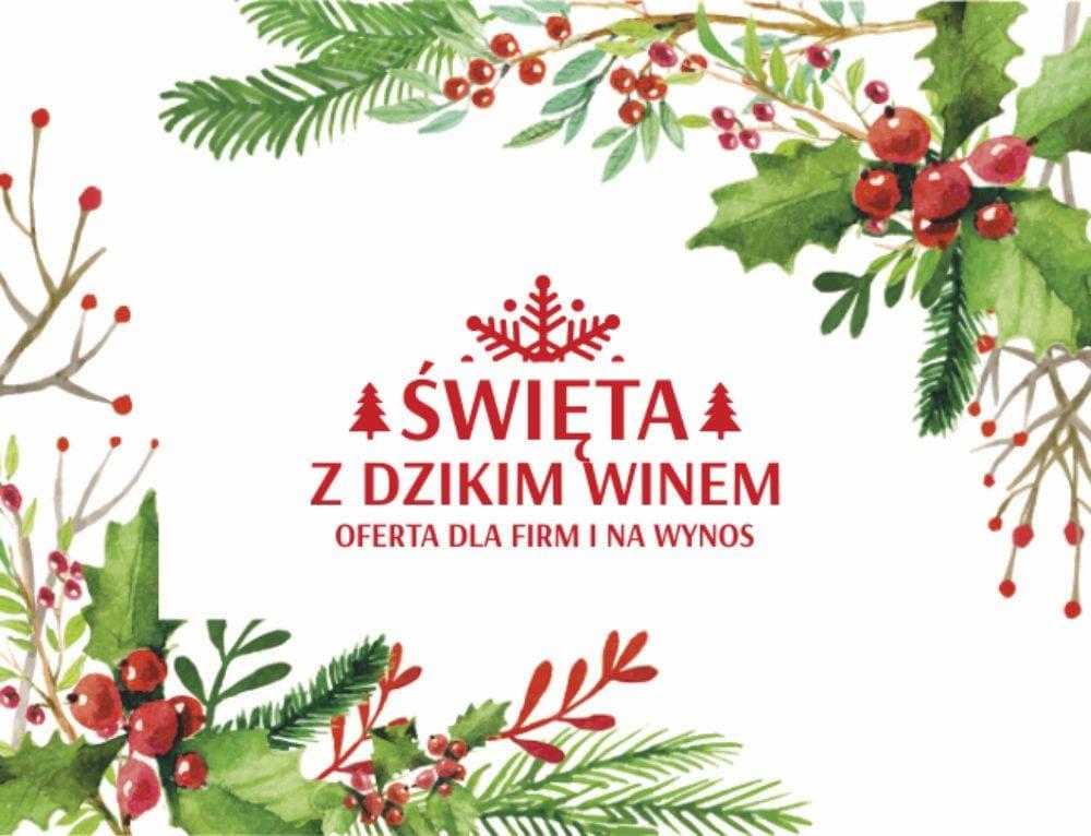Oferta Wigilijna w Dzikim Winie