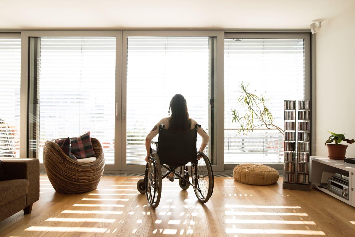 pokój dla niepełnosprawnych łask